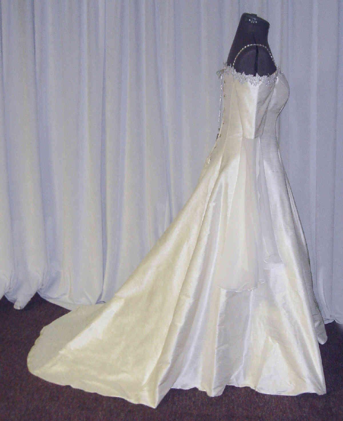 elven wedding elvish wedding dress osc4