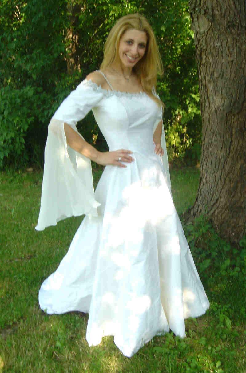 elven wedding elvish wedding dress vwg1