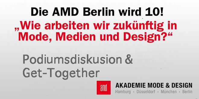 10 Jahre AMD Berlin Feier und Podiumsdiskussion