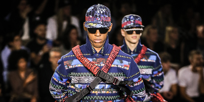 New York Fashion Show der KENZO x H&M Kollektion