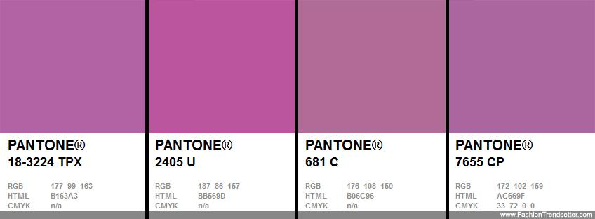 Результат поиска Google для    wwwfashiontrendsetter - sample pms color chart