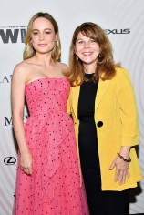 BEVERLY HILLS, CA - JUNE 13: Brie Larson (L) and Dr. Stacy L. Smith attend the Women In Film 2018 Crystal + Lucy Awards presented by Max Mara, Lancôme and Lexus at The Beverly Hilton Hotel on June 13, 2018 in Beverly Hills, California. (Photo by Emma McIntyre/Getty Images for Women In Film)