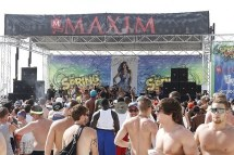 Maxim And Curve At Spring Break
