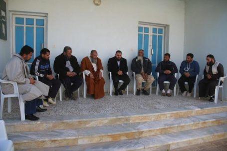 مسؤول ملف الشباب والرياضة بالمجلس البلدي صبراتة يقوم بزيارة تفقدية لنادي الشاطئ 4