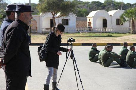 وفد إعلامي أجنبي يزور بلدية صبراتة 7