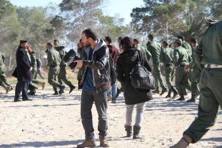 وفد إعلامي أجنبي يزور بلدية صبراتة