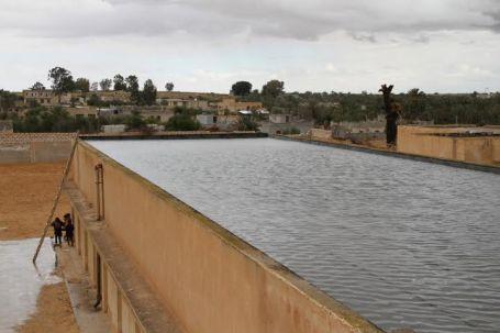استكمال اعمال الصيانة لمدارس موسى بن نصير ورمضان السويحلي بمنطقة الطويلة بصبراتة 1 - Copy