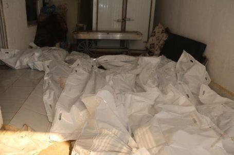 41 قتيلاً و أكثر من 6 جرحى من جنسيات غير ليبية جراء قصف منزل بمنطقة القصر بصبراتةgh