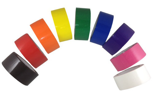 Color Carton Sealing Tape - Red Tape, Black Tape, Blue Tape, Orange
