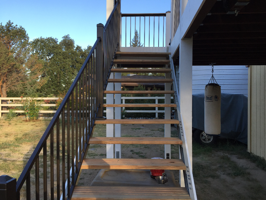 Outdoor Stairs Stair Kits For Basement Attic Deck