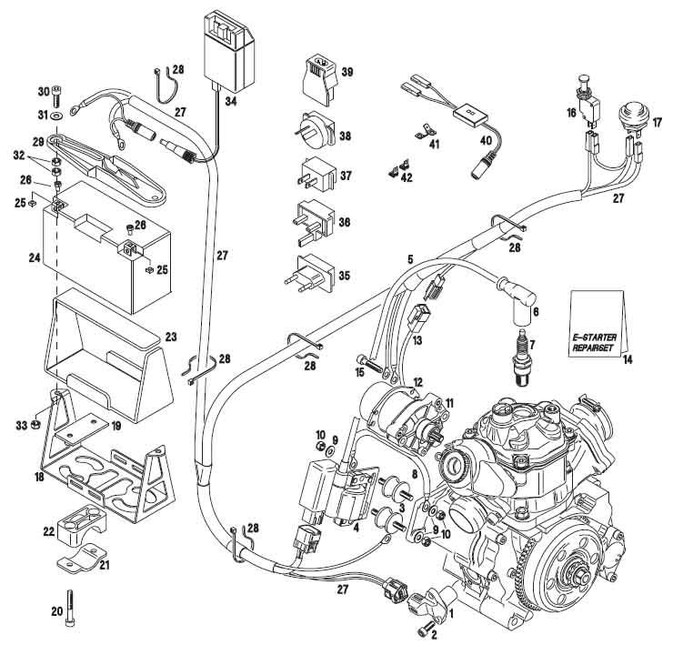 ski doo wiring diagram furthermore bombardier rotax 650 engine diagram