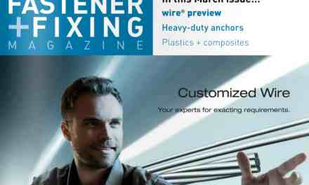 Fastener + Fixing Magazine, March 2016