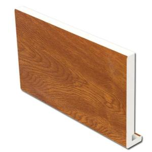 16mm Square Fascia (Light Oak) | Faster Plastics
