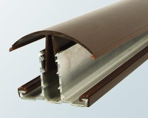 Snap-Down Hip Bar (25mm, 35mm) | Timber Glazing Bars | Faster Plastics
