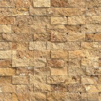 Tilecrest Travertine Stone Eclipse Split Face Mosaic Tile ...