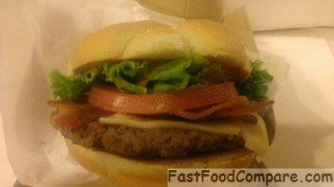 McDonald's Bacon Habanero Ranch Quarter Pounder