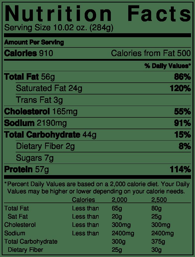 nutrition factspagesepsitename%%