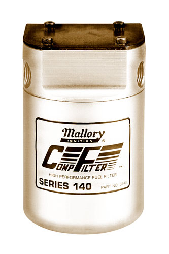 Mallory Comp Series Fuel Filters - FastTrackAutoParts
