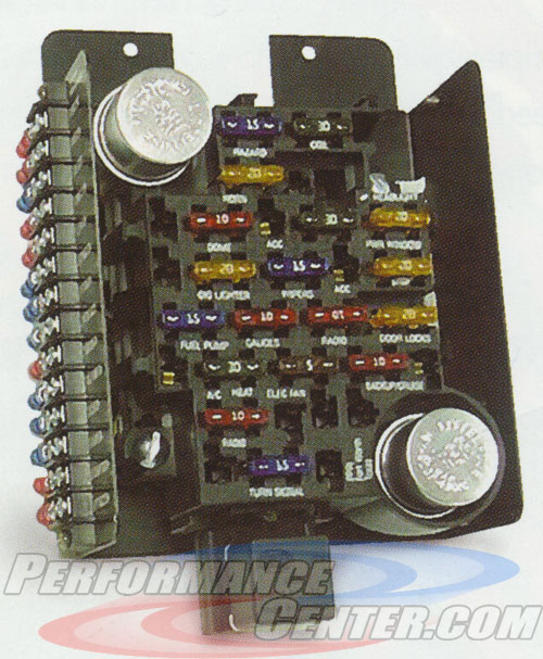 Painless 30003 18 Circuit Compact Universal Fuse Block