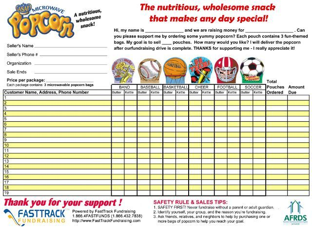 Popcorn Fundraisers Popcorn Fundraising Fundraising Ideas for
