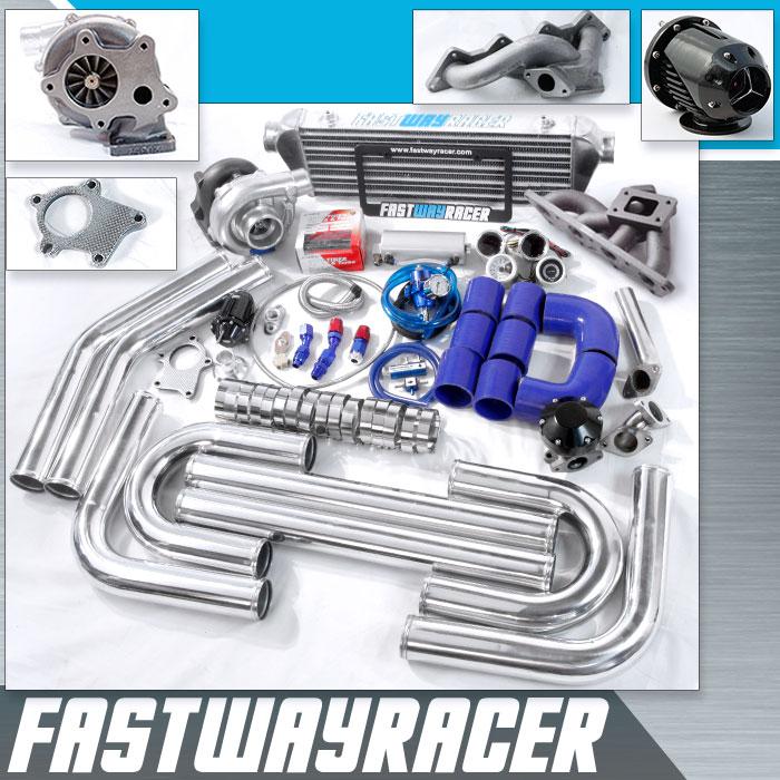 03 Mitsubishi Outlander 4G64 24L SOHC T3/T4 Turbo Kit
