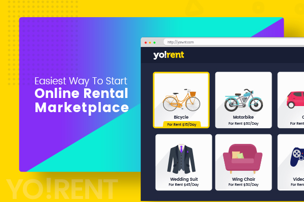 Build Product Renting  Selling Marketplace with Yo!Rent