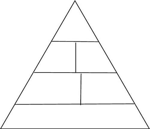blank pyramid diagram - Boatjeremyeaton