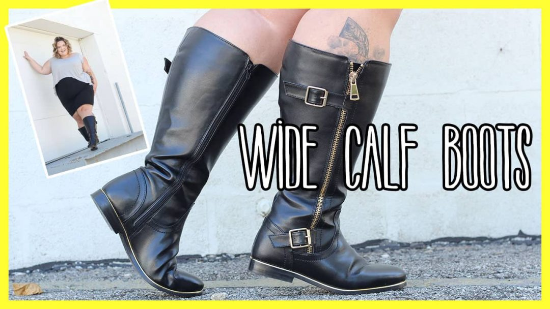 Finding Your Fit In Wide Calf Boots - Fat Girl Flow