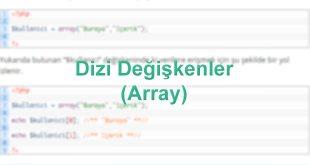 dizi-degiskenler-array-kullanimi