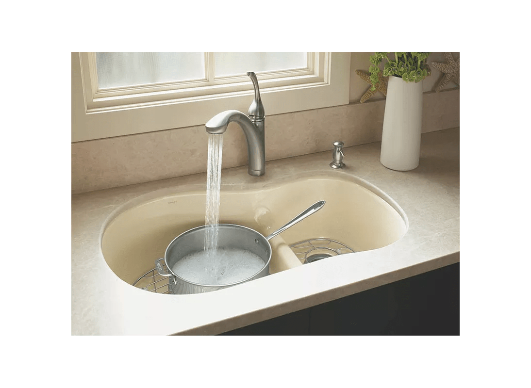 Faucet com k 10433 vs in vibrant stainless by kohler