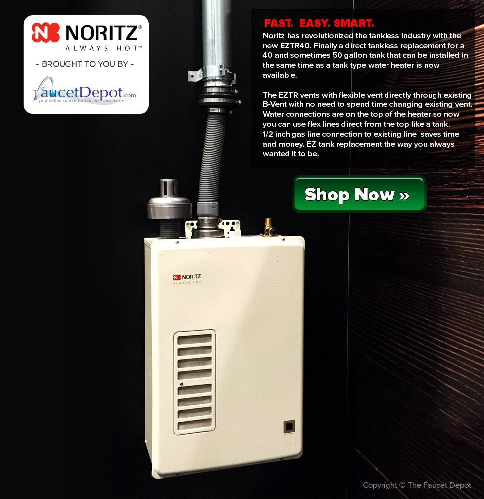 The Noritz Eztr40 Tankless Water Heater A Revolutionary