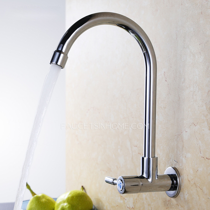 Wholesale Wall Mount Kitchen Faucet Cold Water Only - wall mount kitchen faucet