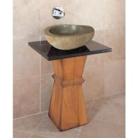 Stone Forest Sinks Pedestal Bathroom Sinks | Faucets N ...