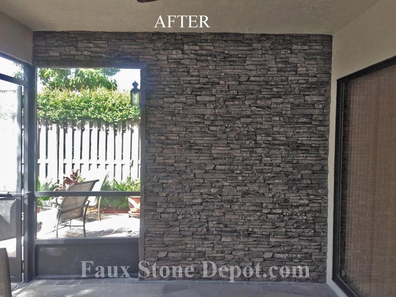 3d Faux Stone Wallpaper Testimonials Reviews Faux Stone Depot