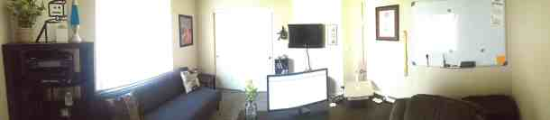 Office Panorama from Jan 8th, 2013