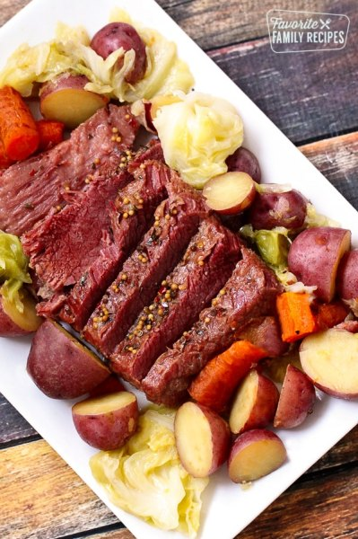 Instant Pot Corned Beef and Cabbage - Favorite Family Recipes
