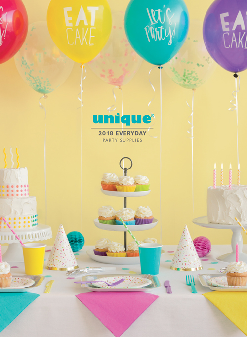 Unique Industries Party supplies manufacturer and global distributor - birthday party design