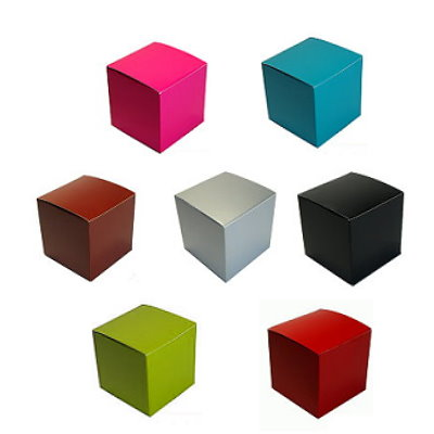 Color Tuck Top Boxes  Favor Supply Store