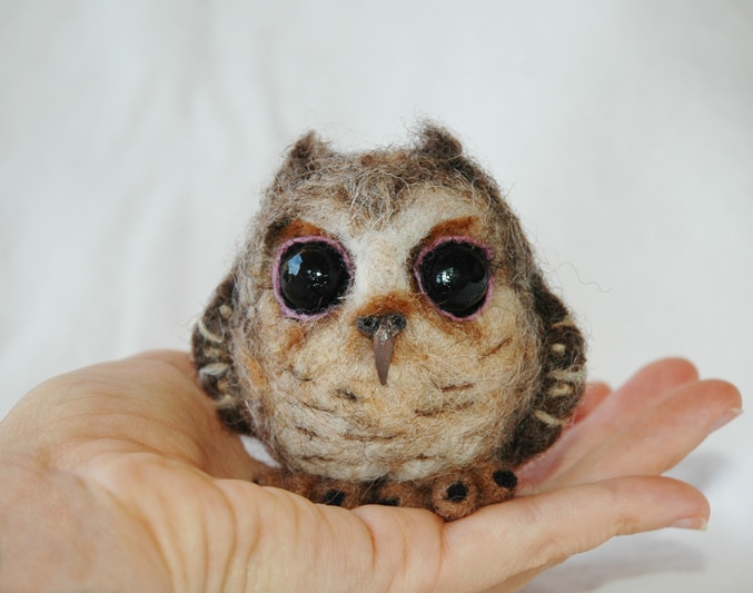 Super Cute Little Baby Wallpapers These 23 Needle Felt Animals Are The Cutest Thing You Ll
