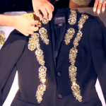 Dolce-Gabbana-Gold-Leaf-Inspired-Thrift-Store-DIY-Tutorial-on-The-Stylish-by-Mark-Montano-Stage-1