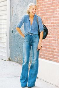 Flared Double Denim_Rachel Fawkes San Francisco Fashion Stylist