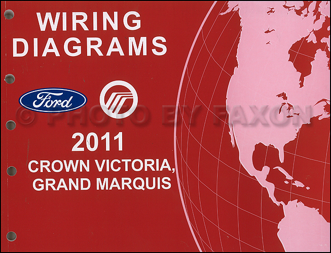 2011 Ford Crown Victoria Mercury Grand Marquis Wiring Diagram Manual