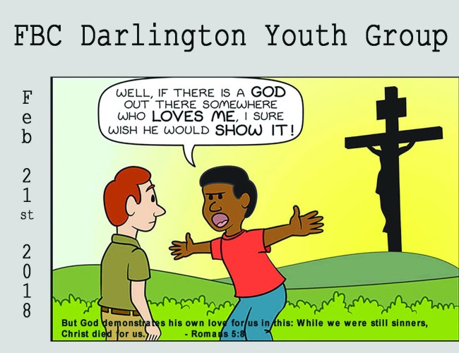 Youth Group Postcard