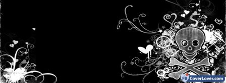 Girl Crying Quotes Wallpaper Emo Angel Wings Emo Goth Facebook Cover Maker Fbcoverlover Com