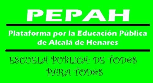 Nota de prensa de la PEPAH