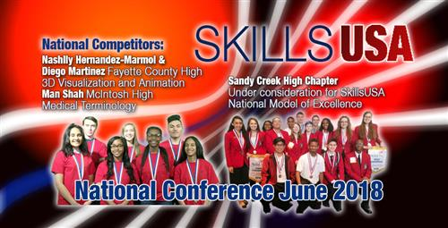 SkillsUSA Students Advance to National Competition Sandy Creek High