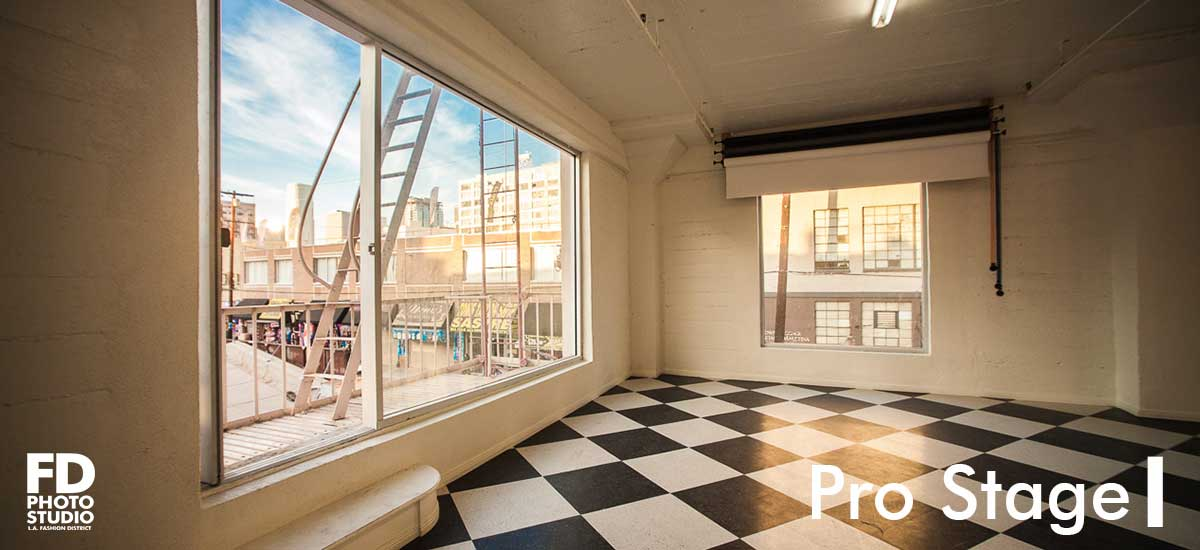 FD Photo Studio Pro Stage I with north facing windows
