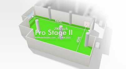 FD Photo Studio Pro Stage 2 with Cyc wall