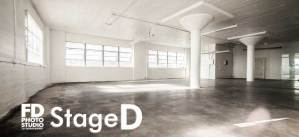 FD Photo Studio Stage D north facing windows