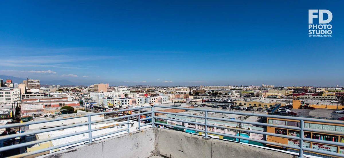 Los Angeles Rooftop for rent